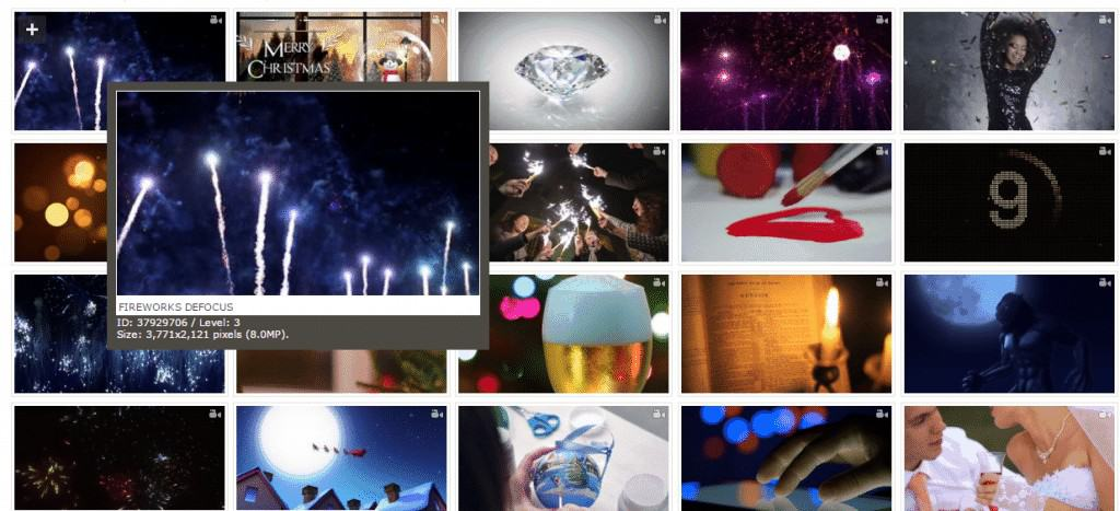 Dreamstime Footage Category