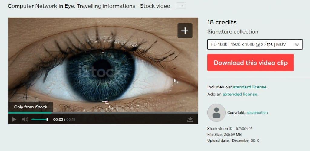 iStock Footage Signature Clip