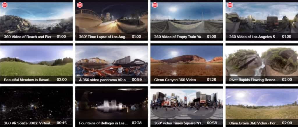 Videoblocks 360 and VR