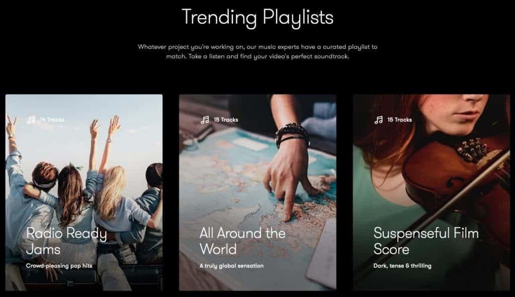 www.shutterstock.com trending playlists