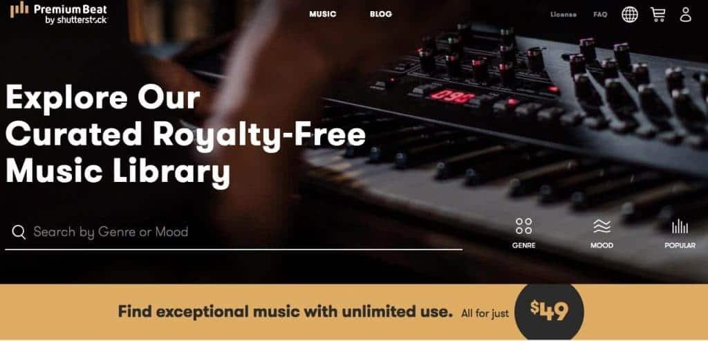 PremiumBeat - Exclusive Premium Stock Music 9