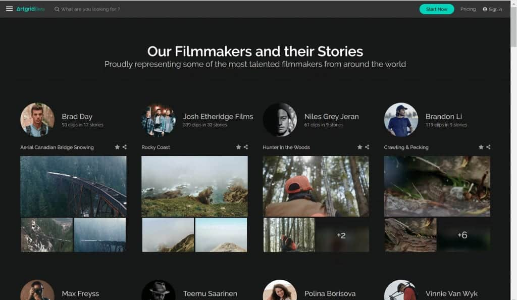Artgrid.io Review: Stock Footage that Tells a Story 1
