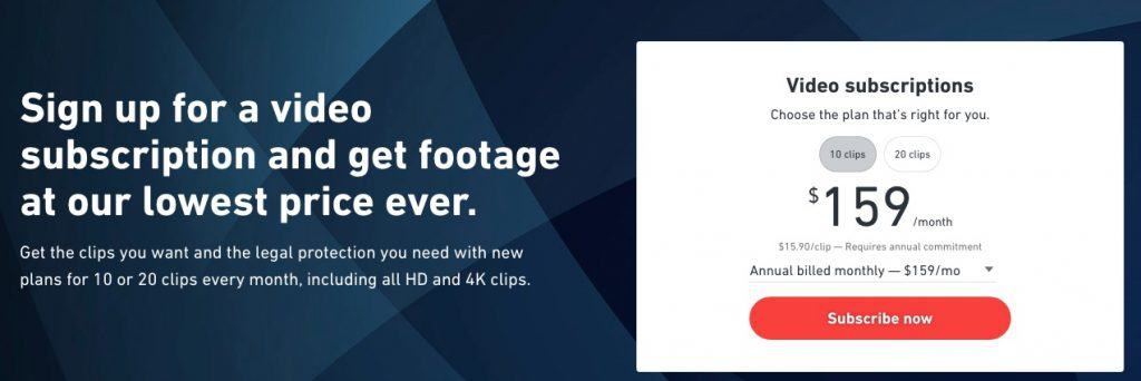Shutterstock Video Subscription is Now a Reality! 2