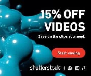 Shutterstock Footage - 15% Off