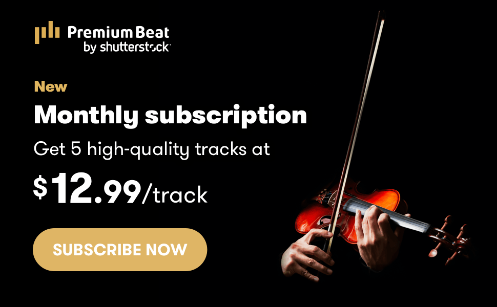 PremiumBeat Launched New Stock Music Subscription 1