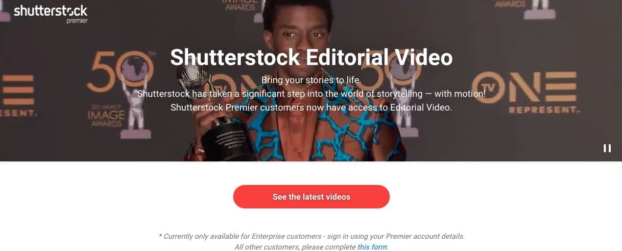 The New Shutterstock Editorial Video Service for Storytellers is Out! 1