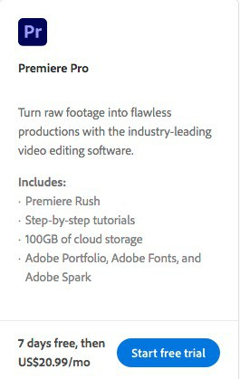How to Download Premiere Pro - Free Trial + Creative Cloud 4