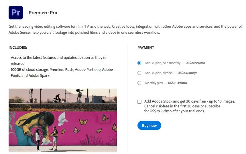 How to Download Premiere Pro - Free Trial + Creative Cloud 5