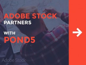 Adobe Stock Partners with Pond5 to Bring Awesome Stock Videos into Creative Cloud