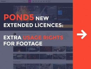 Pond5 New Extended Licenses: Extra Usage Rights for Footage
